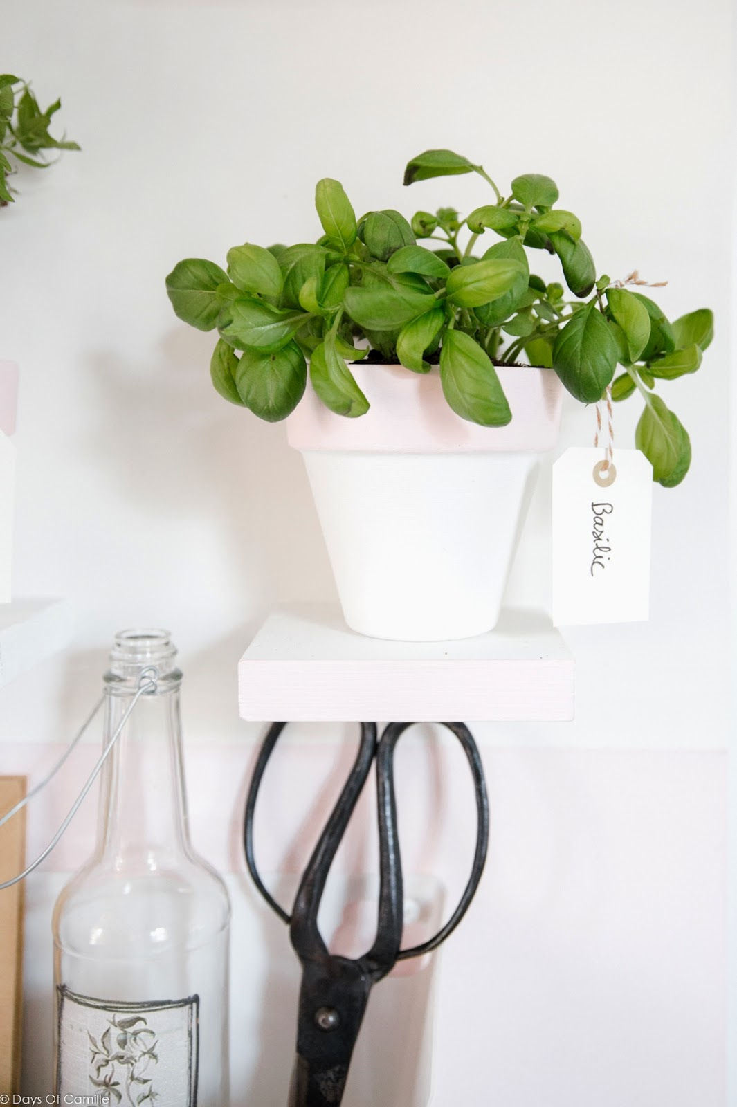 Make it - Tableau pour plantes aromatiques   Days Of Camille x Leroy Merlin