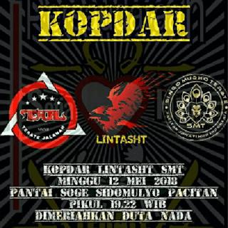 KOPDAR - Duta Nada Live Pantai Soge, Minggu 12 Mei 2018