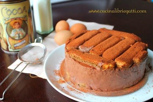 semifreddo al cioccolato con savoiardi ricetta