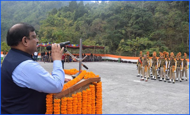 NHPC TLDP stage 3 celebrates 70th Republic Day