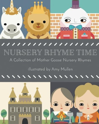 This take on Mother Goose Nursery Rhymes includes really cute illustrations, perfect for babies and toddlers. The rhymes include common favorites as well as a few lesser known poems. It is a cute addition to any nursery library!