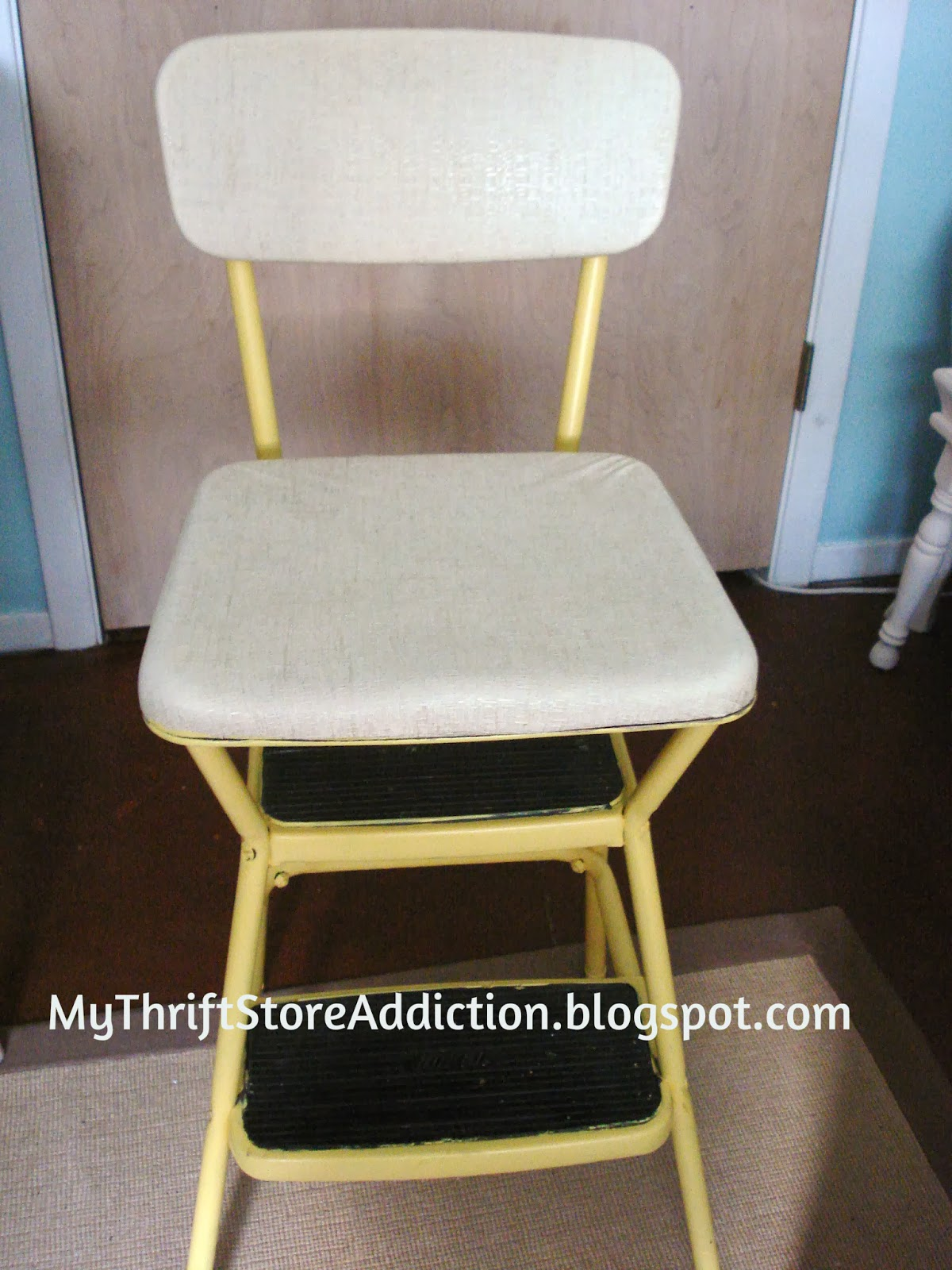vintage Cosco stool upcycle