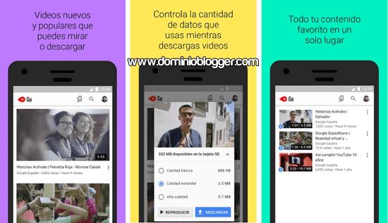 YouTube Go para Android