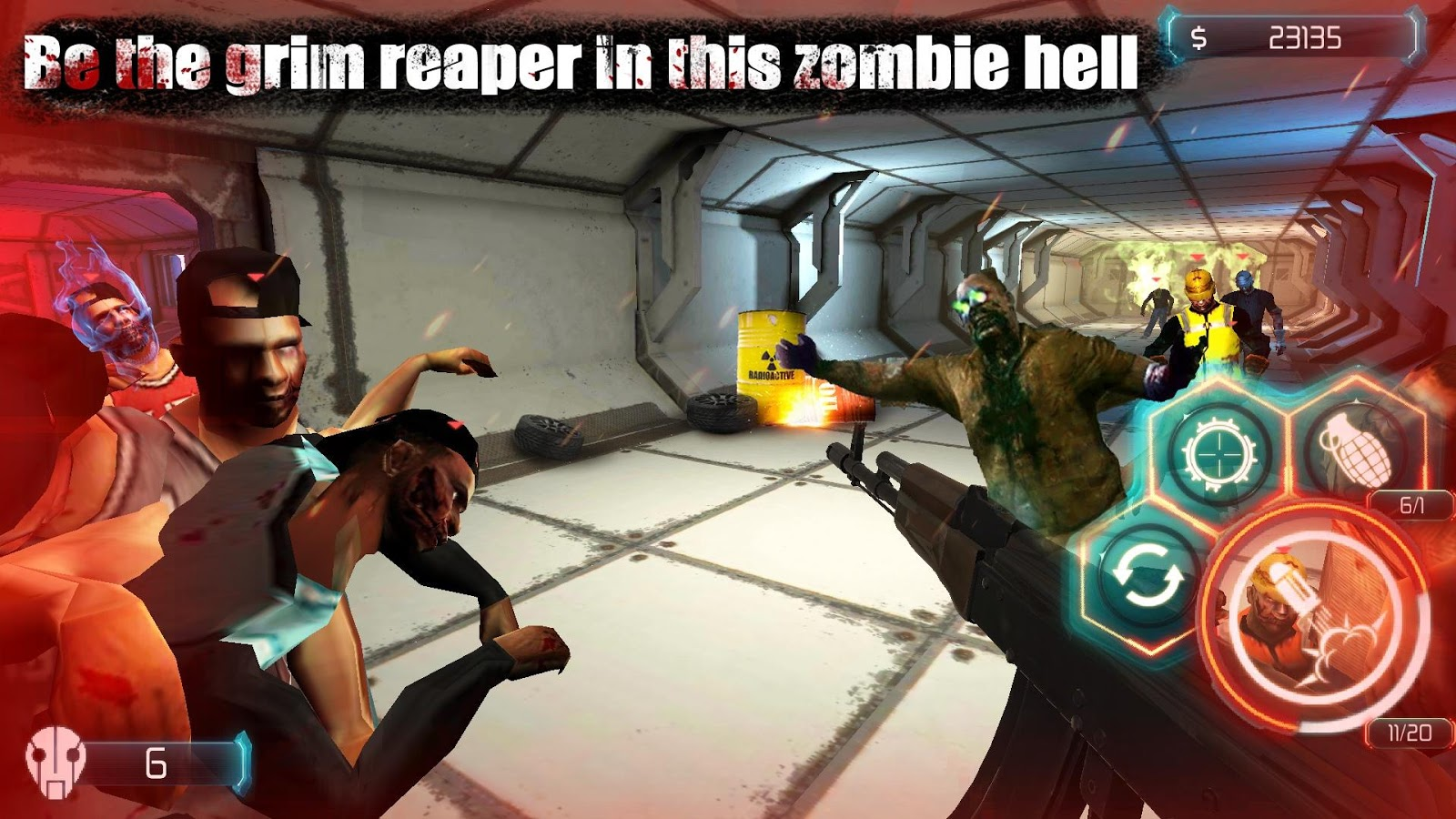 Zombie Invasion Dead City HD MOD APK