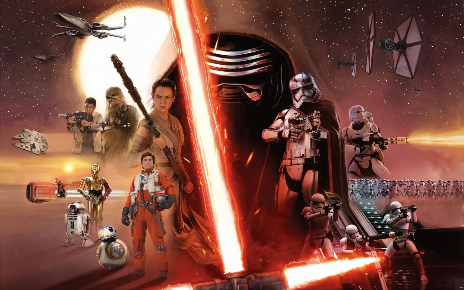 The Force awakens wallpaper hd download
