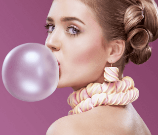 Chewing Gum Girl