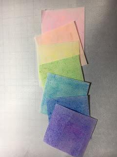 影織の彩色和紙