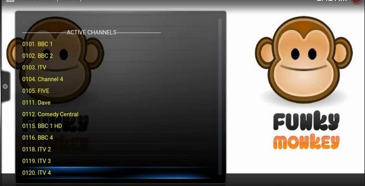 Funky Monkey Kodi Addon Live TV ,Movies ,TV Shows On Kodi
