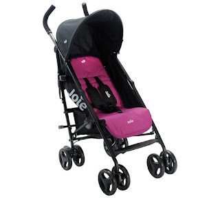 Lowest baby stroller in the UK £49.99 Joie Pink Nitro Stroller at Argos