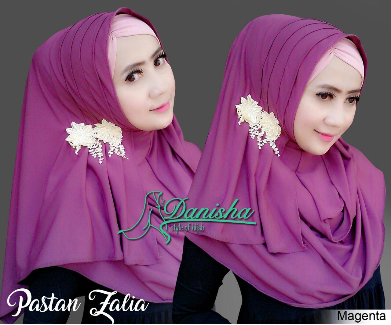 Supplier Gamis Hijab Branded Tangan Pertama Murah Pastan Zalia By Umama Noor Jilbab Kerudung Segiempat Danisha