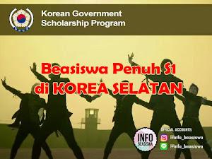 Beasiswa Pemerintah Korea Jenjang S1
