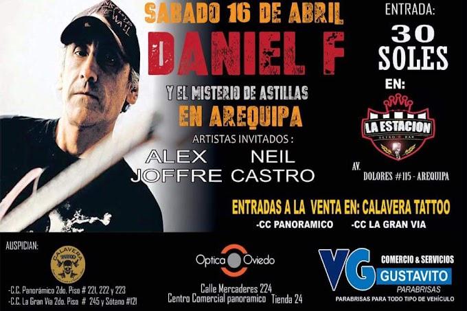 Daniel F en Arequipa - 16 de abril