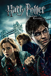 Harry Potter and the Deathly Hallows Part 1 2010 movieloversreviews.filminspector.com Daniel Radcliffe Emma Watson Rupert Grint film poster