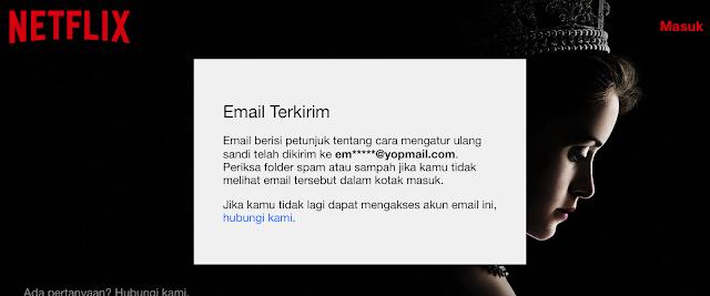 Akun Netflix dihacker, email dan password dicuri