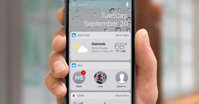 mejores-widget-ios-10-640x336 5 apps that can not miss on your iPhone with useful widgets Technology