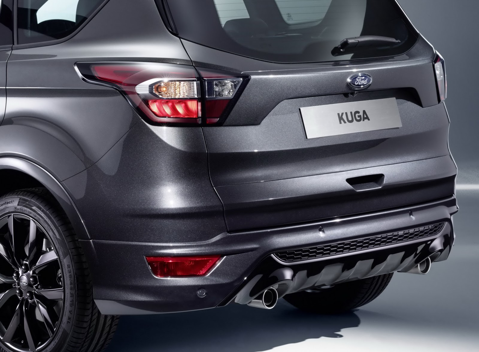 ford gives europe s 2017 kuga a facelift and new 1 5l turbo diesel. Black Bedroom Furniture Sets. Home Design Ideas