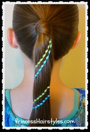 Superb 4Th Of July Hairstyles Aztec Carousel Braid Ponytail And Bun Short Hairstyles Gunalazisus