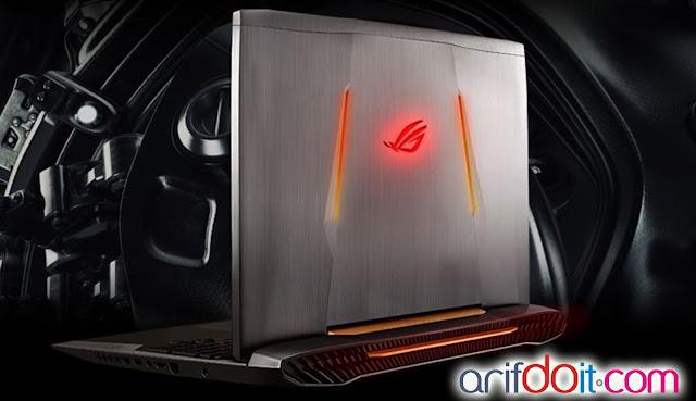 Asus ROG G752VY laptop gamer terbaik