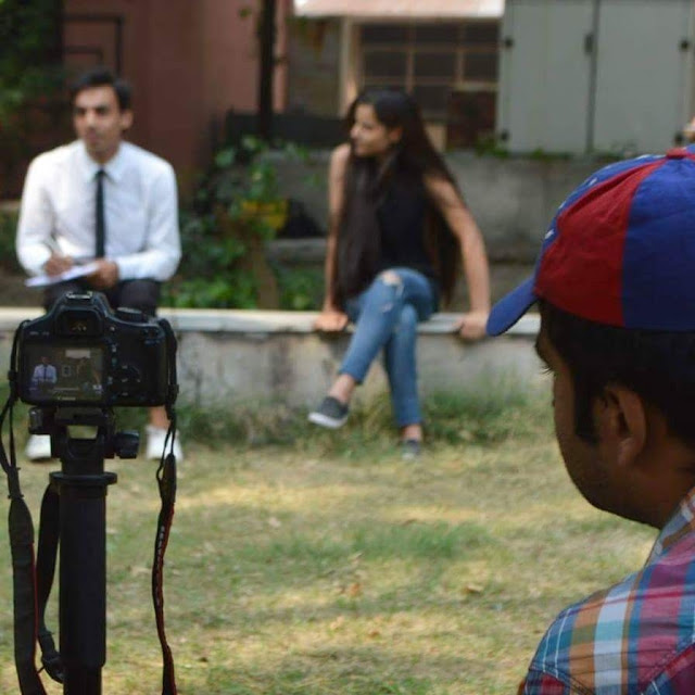 Aashiqui - Not A Love Story, shooting pictures, on the day of the shoot, Murtaza Ali Khan, Kausar Hayat, Anjali Gautam, Abhishek Kumar, Nikhil Raman