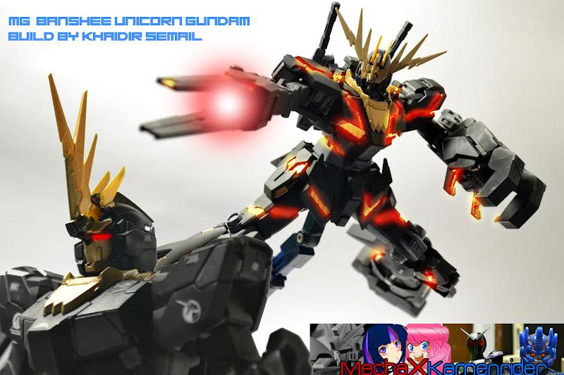 Bronygunpla Mg Banshee Gundam Completed