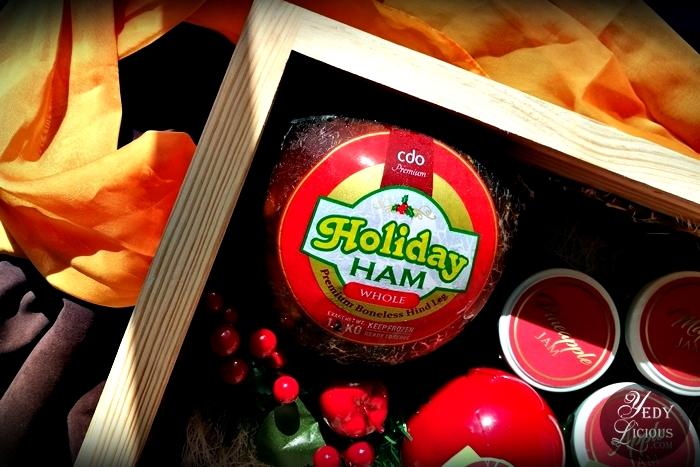 CDO Premium Holiday Ham Premium Boneless Pork Hind Leg, CDO Premium Holiday Ham Blog Review YedyLicious Manila Food Blog