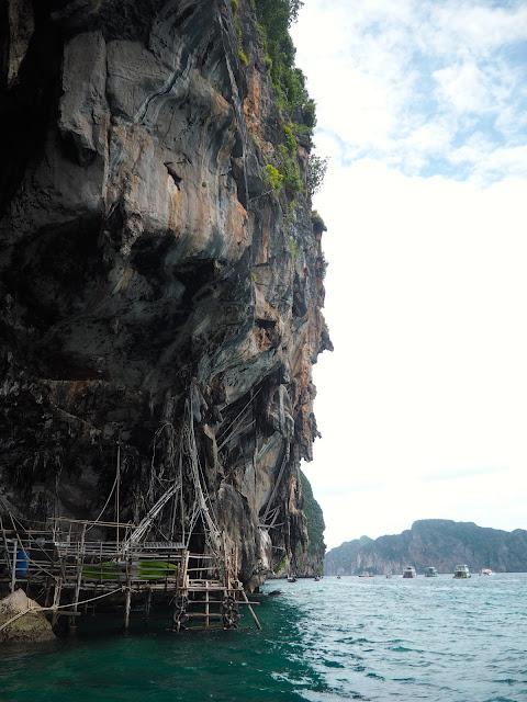 Phi Phi Leh island, near Krabi, Thailand