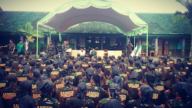 Alhamdulillah, Tujuh Ratus Pasukan Banser Sukabumi di Bai'at