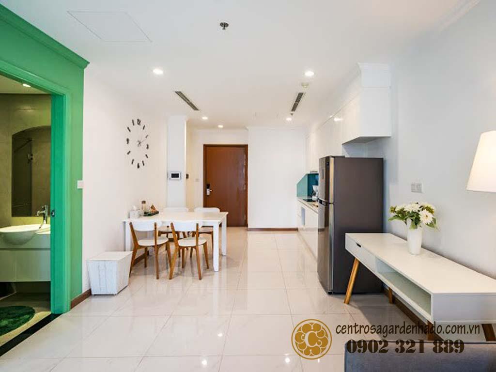 Căn hộ Q10 Hado Centrosa cần bán 1PN 56m2 tòa Orchid 1 - hình 1