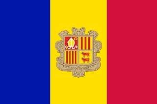 Andorra (Kepangeranan Andorra) || Ibu kota: Andorra la Vella