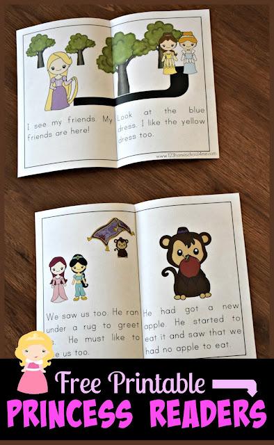 FREE-Printable-Disney-Princess-Emergent-Reader-Sight-Words