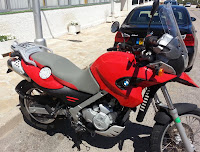 Tapizado asiento moto bmw f 650 gs
