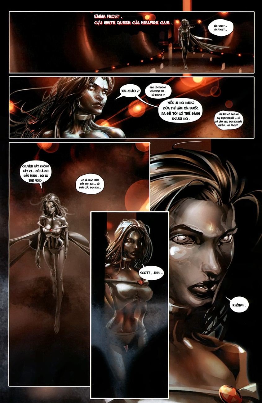 X-Men Necrosha chap 1 trang 15