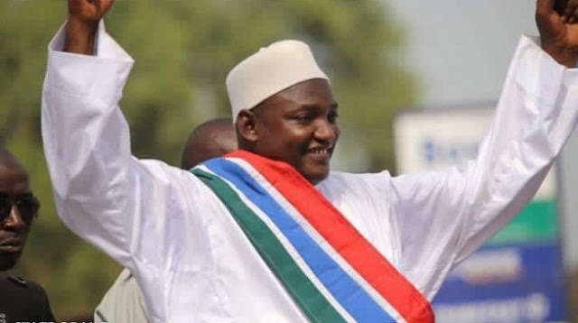 PROFILE: Barrow, the London security guard and Arsenal fan who just became Gambia's president