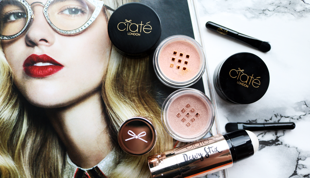 Ciate Dewy Stix Luminous Highlighting Balm & Precious Metal Eyeshadows - Review & Swatches