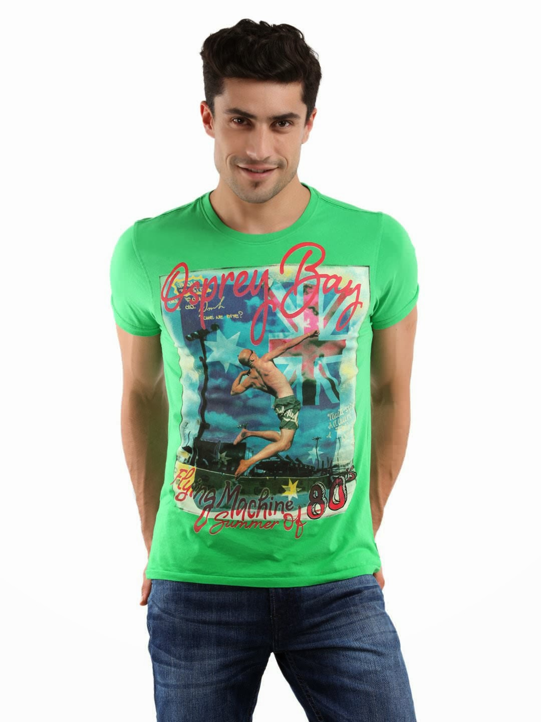 printed shirts tee brand guys shirt mens machine flying graphic prints discharge accessories these vibrant green dyes hope famous using