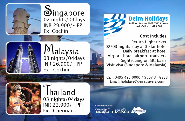 Singapore Malaysia Thailand Vacation Package