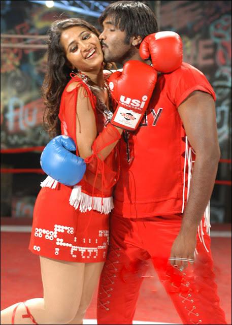 Anushka Shetty hot scene, Anushka Shetty as boxer