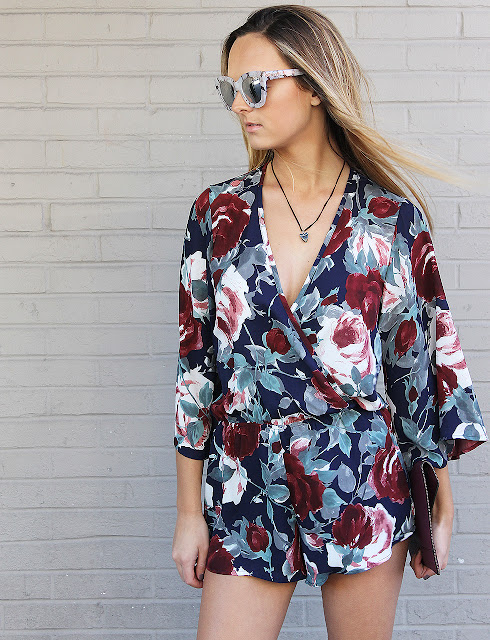 Our Favorite Floral Rompers Under $100 for Valentine's Day