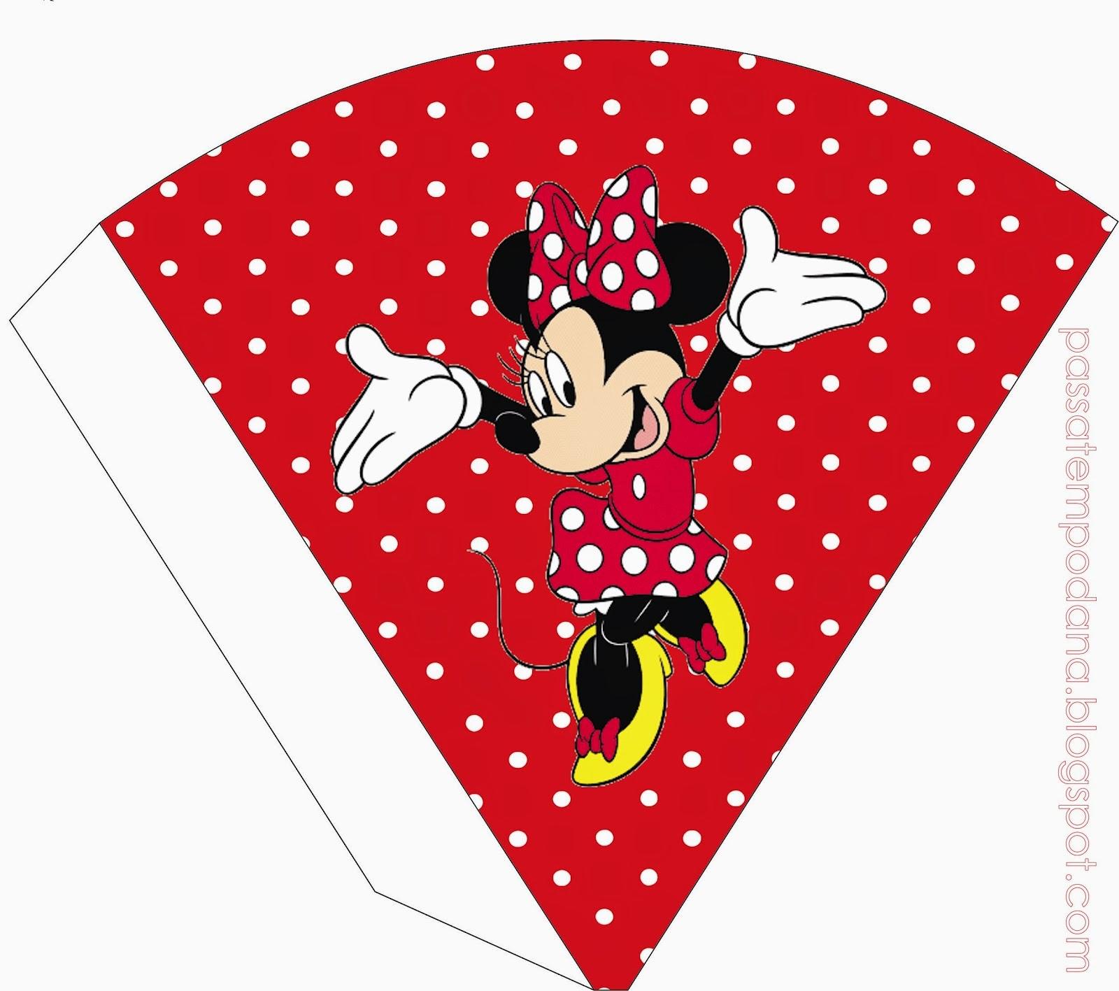 Invitaciones de Minnie Mouse Gratis - fiestaideasclub.com