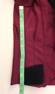TNG season 1 admiral jacket - side seam