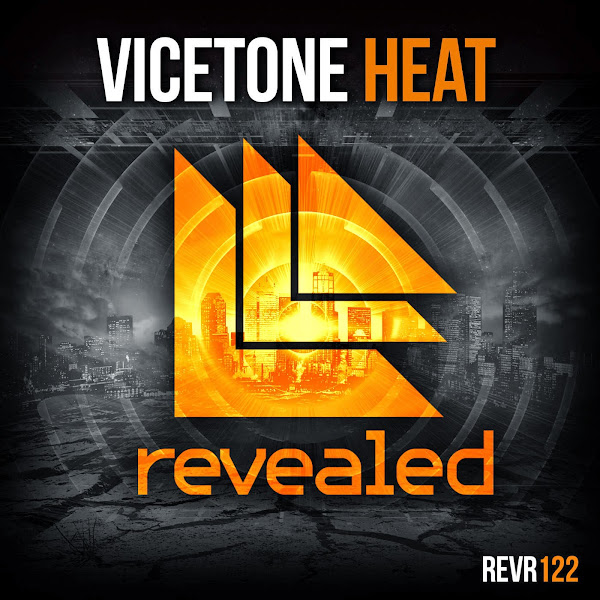 Vicetone - Heat - Single  Cover
