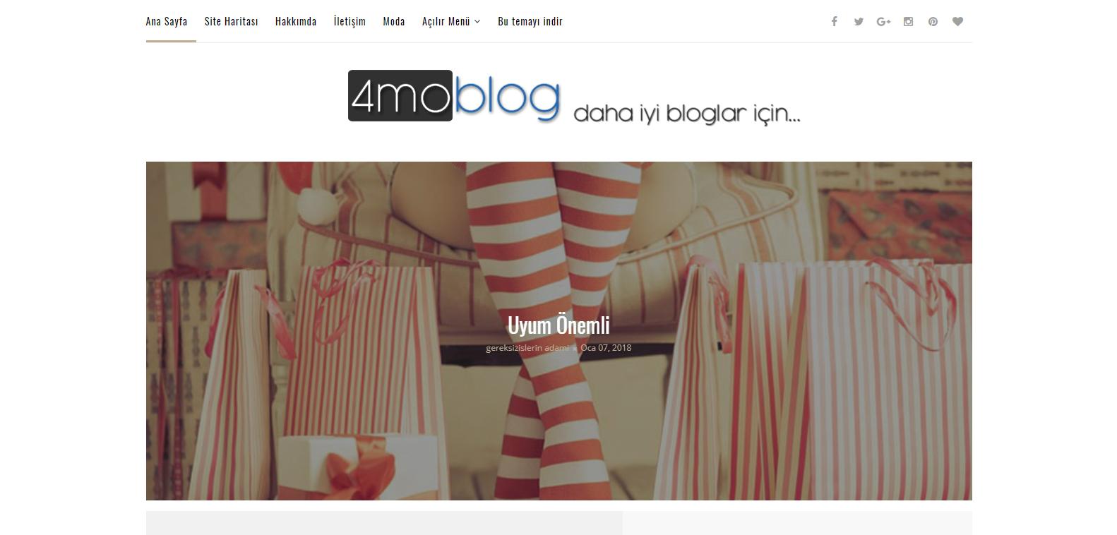 Photonic Blogger Teması