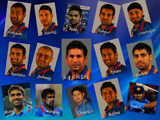 Indian cricket team roster