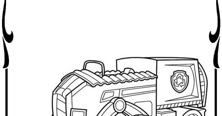 Paw Patrol Vehicles Coloring Pages : Disney paw patrol coloring pages realistic