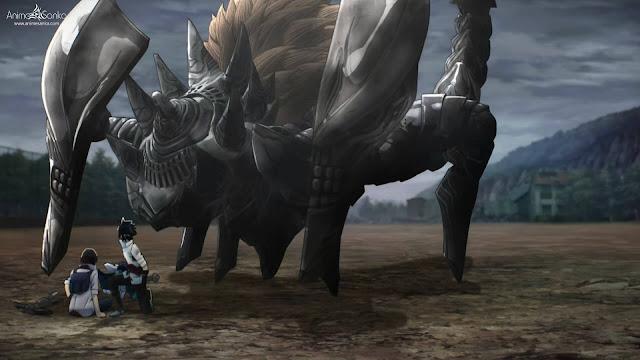 جميع حلقات انمى ملتهمي الإله God Eater بلوراي 1080P مترجم God Eater كامل اون لاين تحميل و مشاهدة جودة خارقة عالية بحجم صغير على عدة سيرفرات BD x265 ملتهمي الإله Bluray