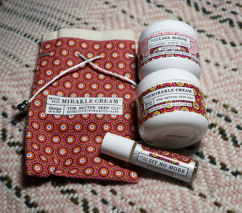 The Better Skin Co.  Lava Magik, Mirakle Cream, Zit No more. #Review #Giveaway