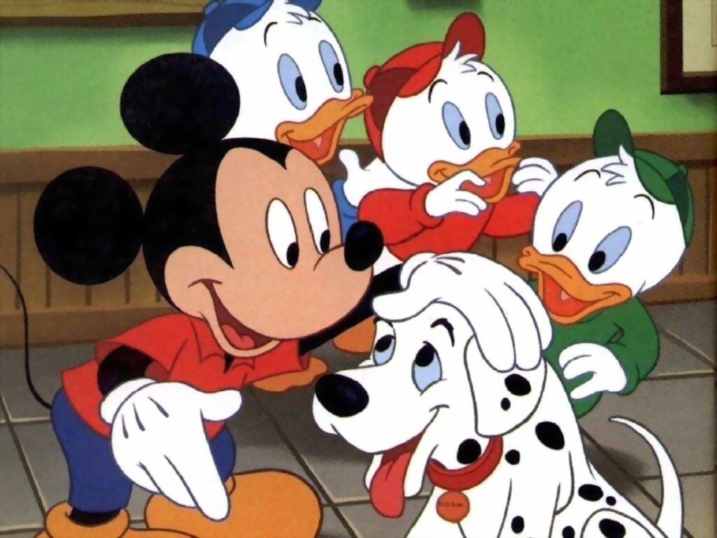 Disney Channel Mickey Mouse Clubhouse: Mickey Mouse Wallpaper