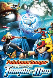 Pokémon Ranger e o Lendário Templo do Mar - BDRip Dual Áudio