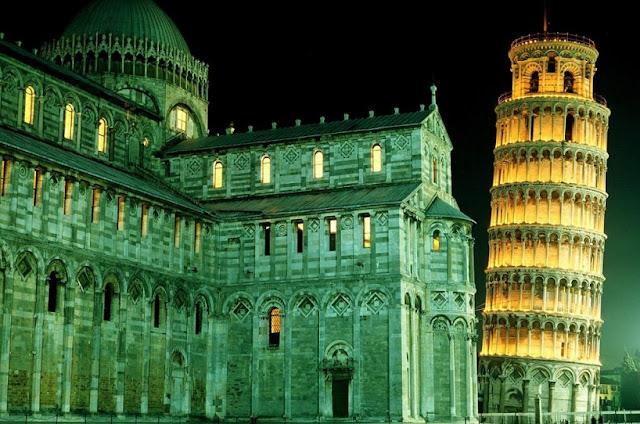Ponto turístrico Torre de Pisa