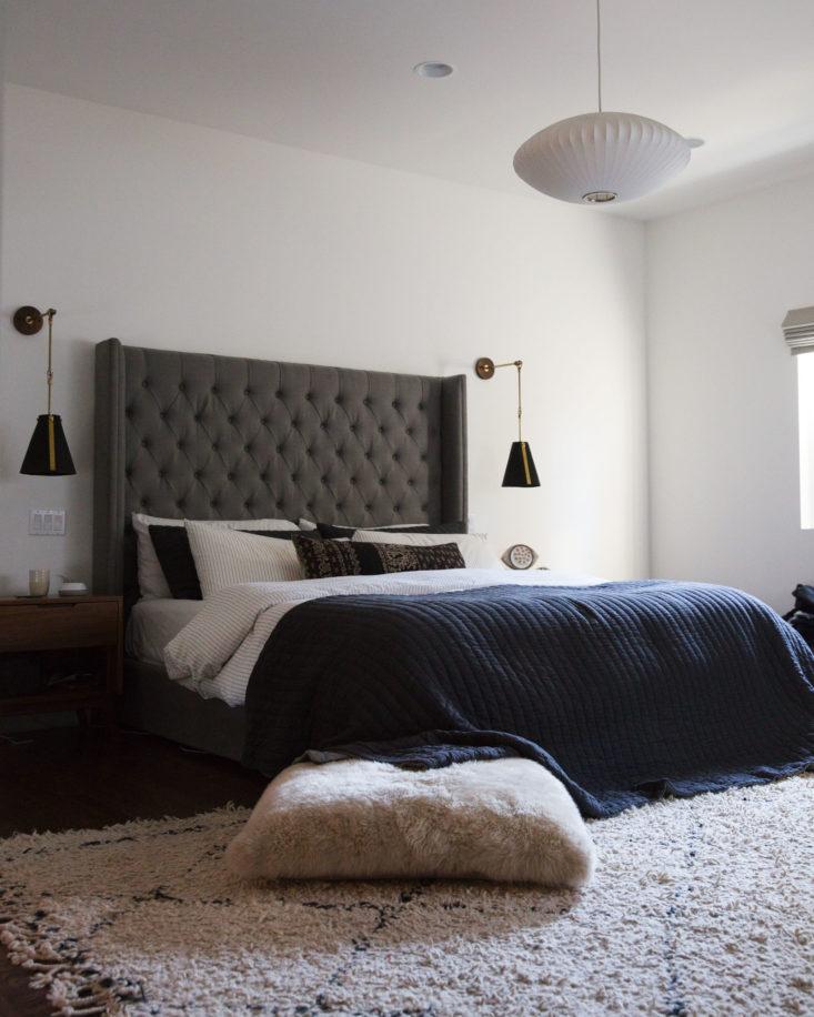 Brendon Urie's bedroom in renovated LA home